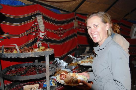Bedouin House Camp: time for dinner