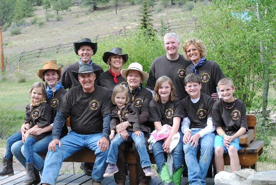 Elk Mountain Ranch: Family reunions