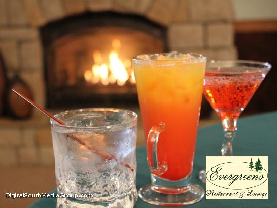 Evergreens Restaurant and Lounge : Lounge Drink Specials