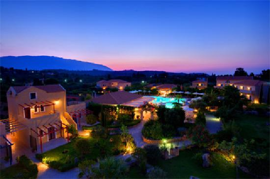 A beatiful dawn at Avithos Resort