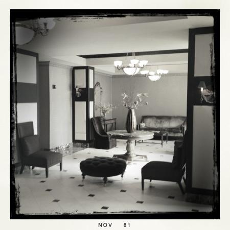 Hotel St. Regis : lobby