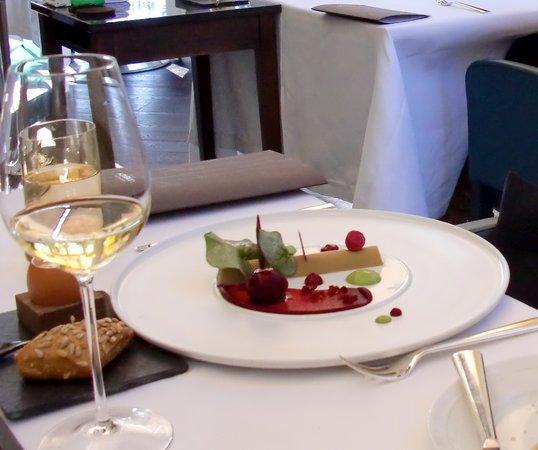 Restaurant Lerbach: Fois gras
