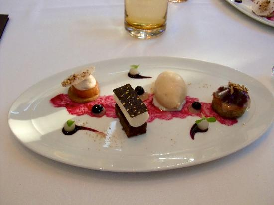 Restaurant Lerbach: Dessert at lunch in Lerbach