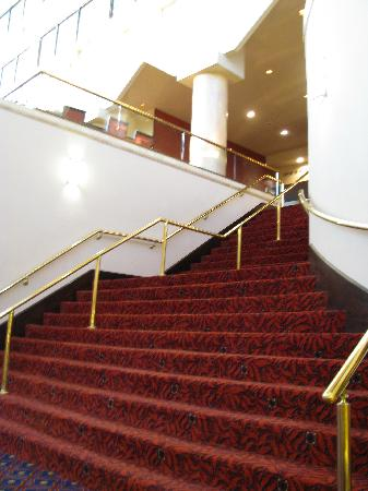 Islandia Marriott Long Island: Nice stairs