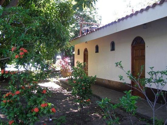 Isletas El Roble: L'entrée des chambres