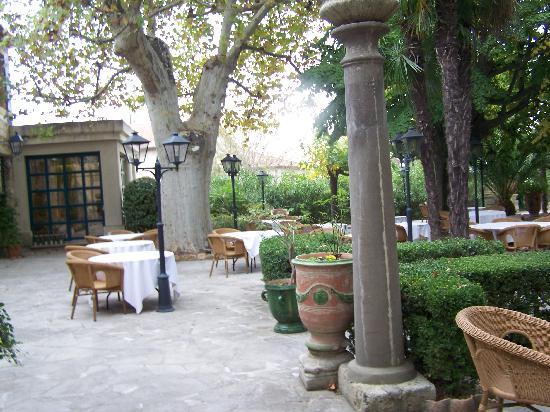 Najeti Hôtel la Magnaneraie : Le jardin intérieur