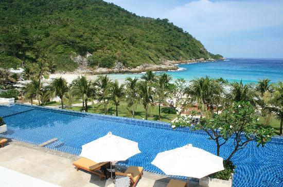 The Racha: View from the Infinity pool