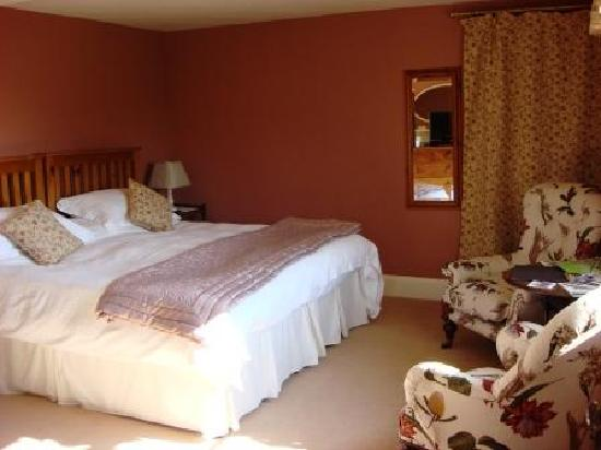 Grange Farm Woolpit: One of the bedrooms