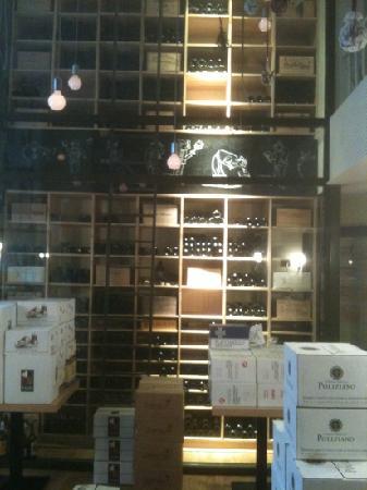 Cucina Povera: The wine cellar