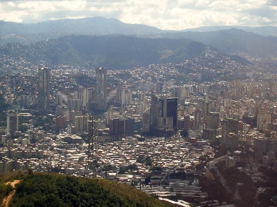 Caracas, Venezuela: View from Teleferico