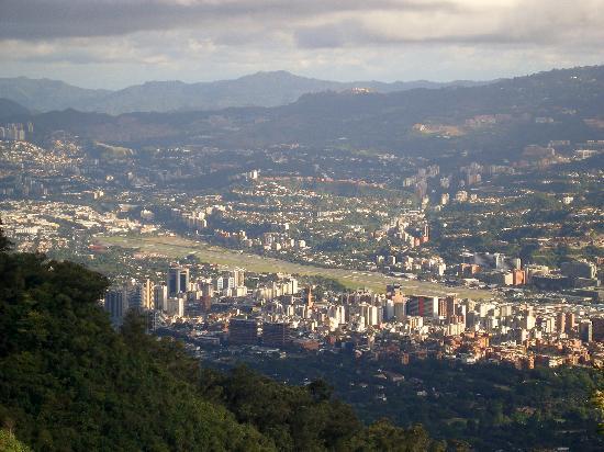 Caracas, Venezuela : View from Teleferico