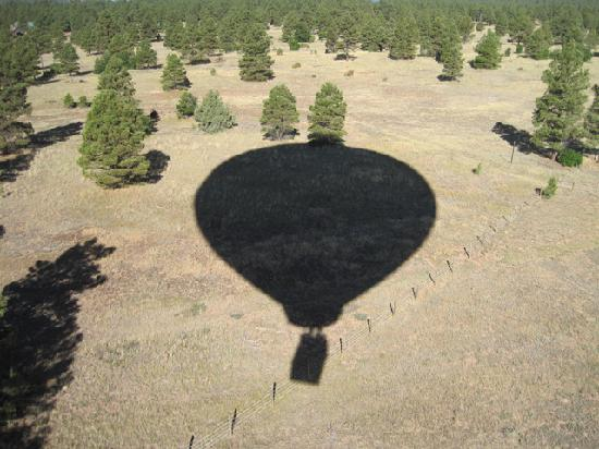 Rocky Mountain Balloon Adventures, LLC.: ...followed by a BALLOON shadow...