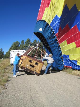 Rocky Mountain Balloon Adventures, LLC.: TOUCHDOWN!