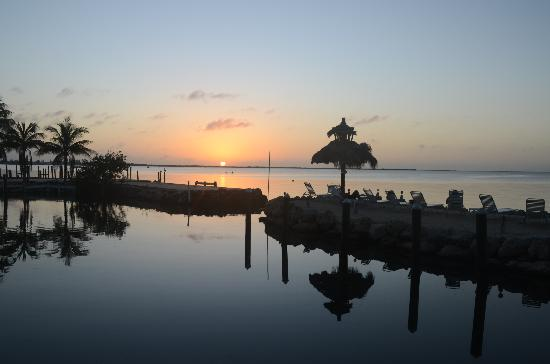 Amy Slate's Amoray Dive Resort: Sunset from the property