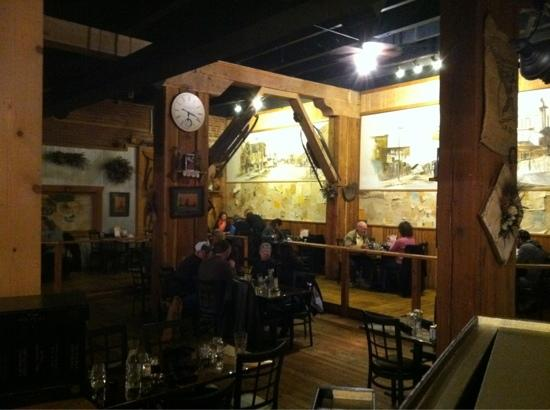 Casagranda's Steakhouse: great Montana atmosphere