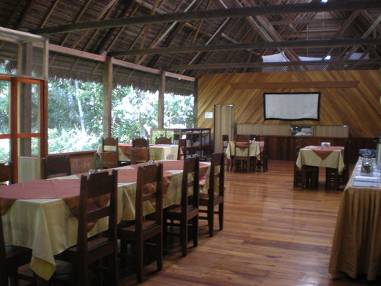 Manu Wildlife Center: Dining Rm