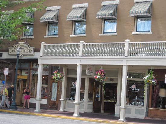 Historic Downtown Durango: Balconies and Canopies