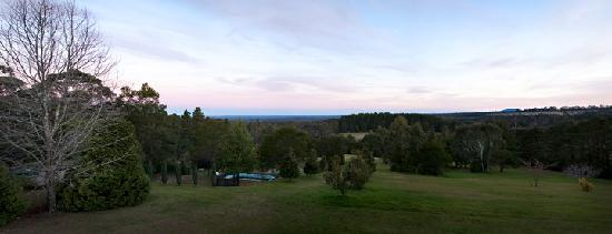 Bilpin Resort : view from the Blue Gum Room deck