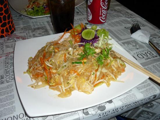 Sabai Sabai Thai Cooking School & Restaurant: Awesome Phad Thai !