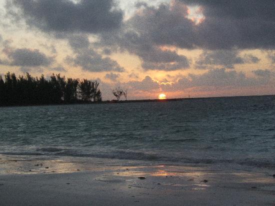 Sunrise at Island Seas Resort