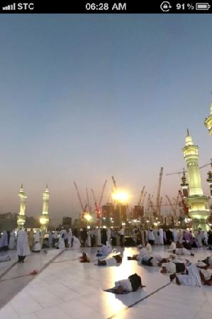 Mecca, Saudi-Arabien: extension of mosque