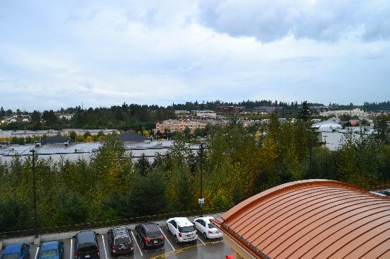 Holiday Inn Express & Suites Seattle North - Lynnwood: 4th floor even # room view