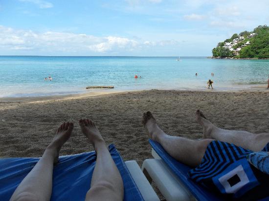 Kamala Beach: View from the beach