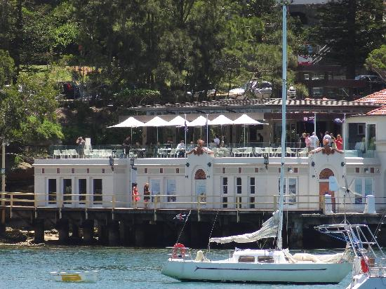 The Bistro at Manly Pavilion: Looking from the ferry