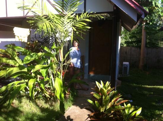 Lanta Fullmoon Bay View Resort: unser bungalow!