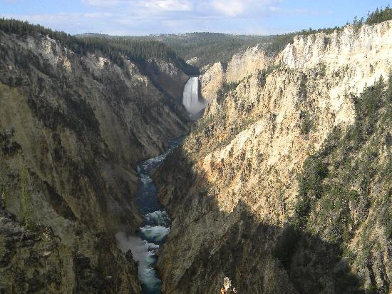 Grand Canyon of the Yellowstone: Artist Point