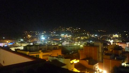 Gran Garbi Mar: vue du toit la nuit