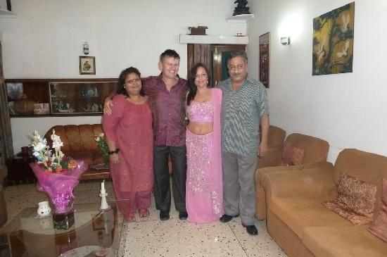 Bed and Breakfast New Delhi: Purnim, Bill, Romina and Ajay!