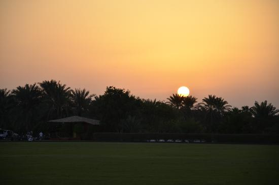 ‪ديزرت بالم ريزورت آند سبا: Sunset at Desert Palm‬