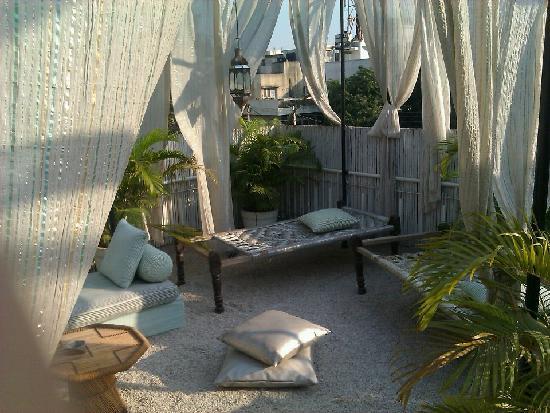 Amarya Villa: Dachterrasse