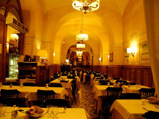 Hostaria-Pizzeria da Cesare: Interno del ristorante - interior of the restaurant