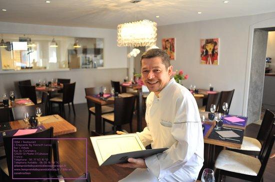 Roanne, Francja: Restaurant L'Empreinte