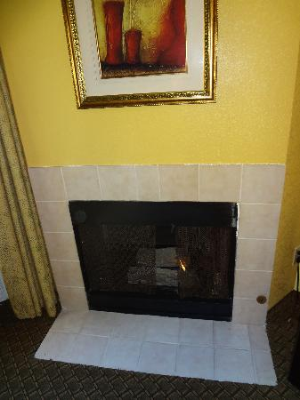 Days Inn & Suites by Wyndham Downtown Gatlinburg Parkway: fireplace