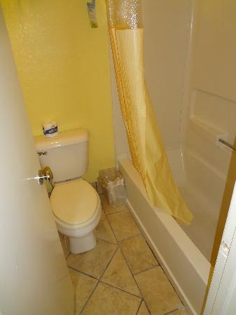 Days Inn & Suites by Wyndham Downtown Gatlinburg Parkway: bathroom
