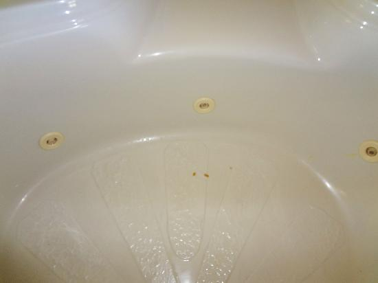 Days Inn And Suites Downtown Gatlinburg Parkway: brown stained jacuzzi