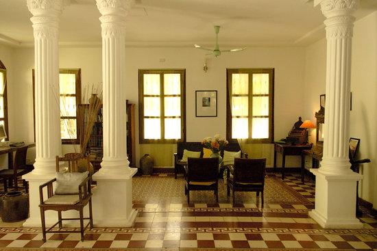 The Pavilion: Reception area