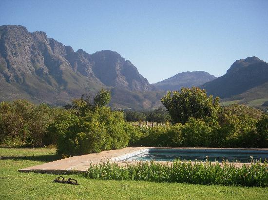 Cape Vue Guest House: Swimming pool view