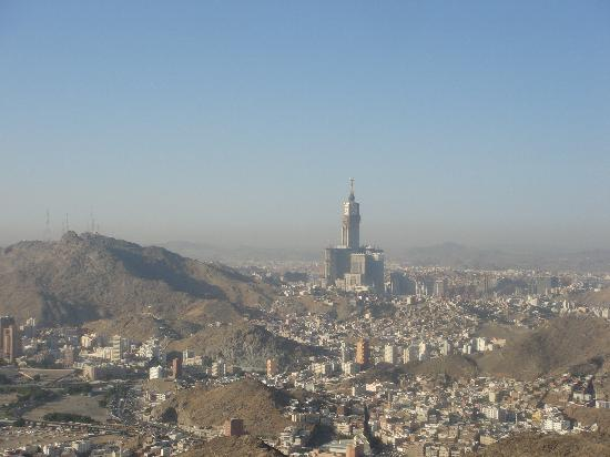 Jabal-al-noor (Berg des Lichtes): view from the top of jabal noor