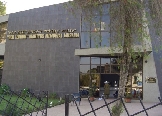 Red Terror Martyrs Memorial Museum: Entrance to the museum