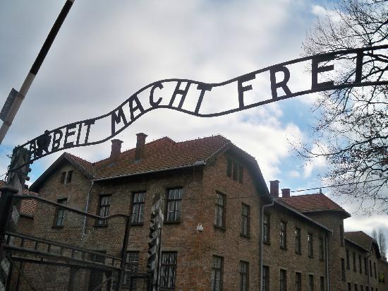 Auschwitz-Birkenau State Museum: Entry into Auschwitz