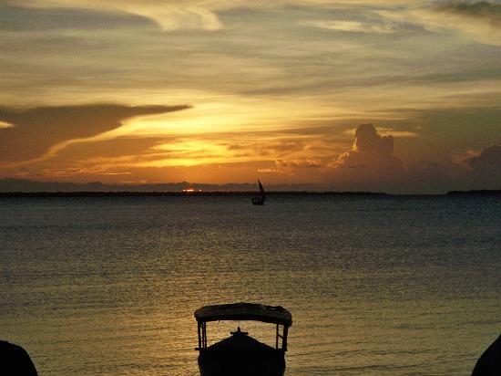 Kendwa, แทนซาเนีย: il tramonto ;)