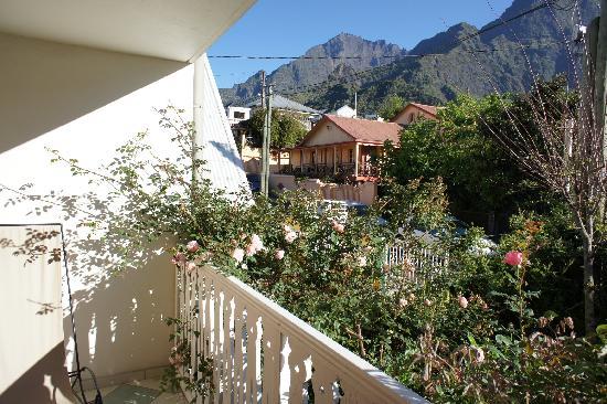 Tsilaosa Hotel and Spa: Balkon Zimmer 5