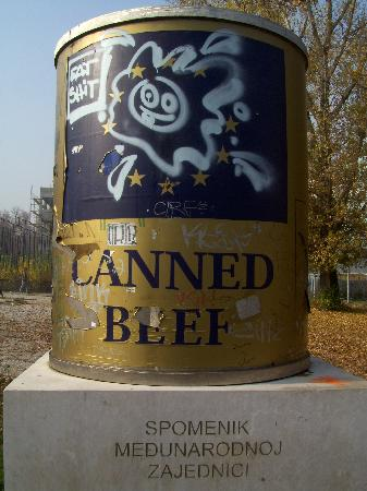 Neno & Friends free Sarajevo walking tours and private guide: Canned Beef