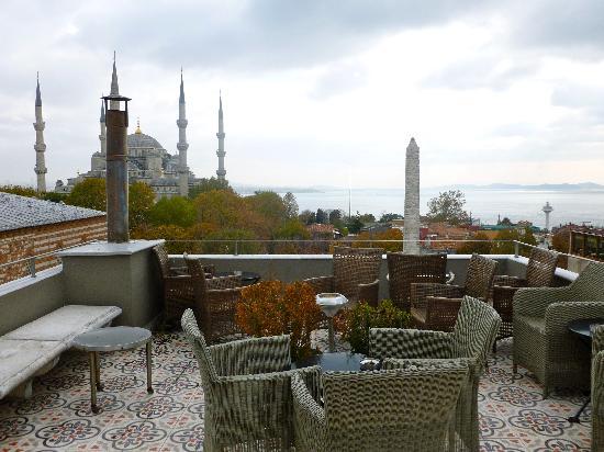 Ibrahim Pasha Hotel: Rooftop Lounge