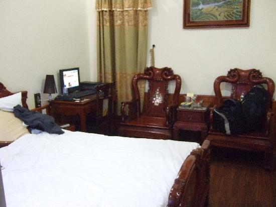 ฮานอย สไตล์ โฮเต็ล: this was my room