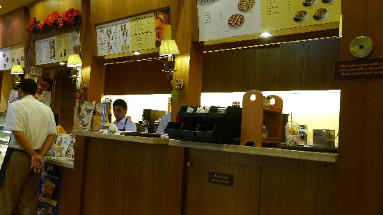 Figaro Coffee: Place your order at the counter - just like conventional coffee chains